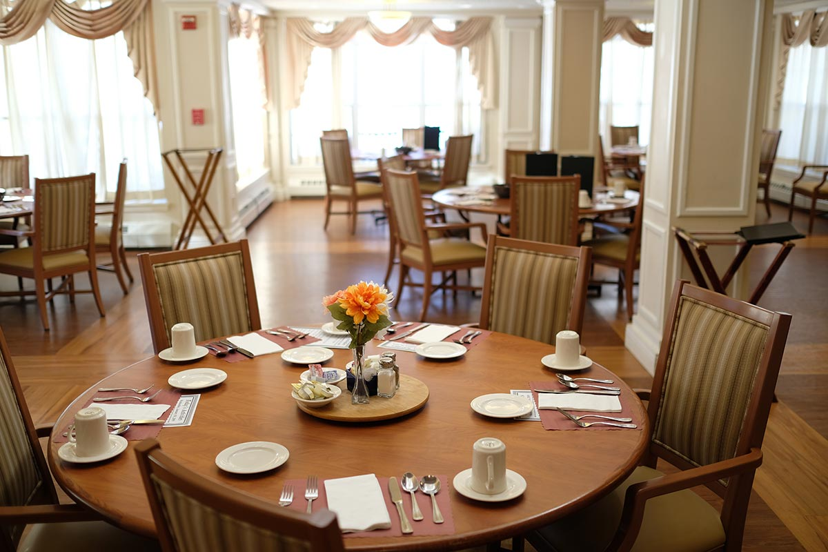 Massry dining room