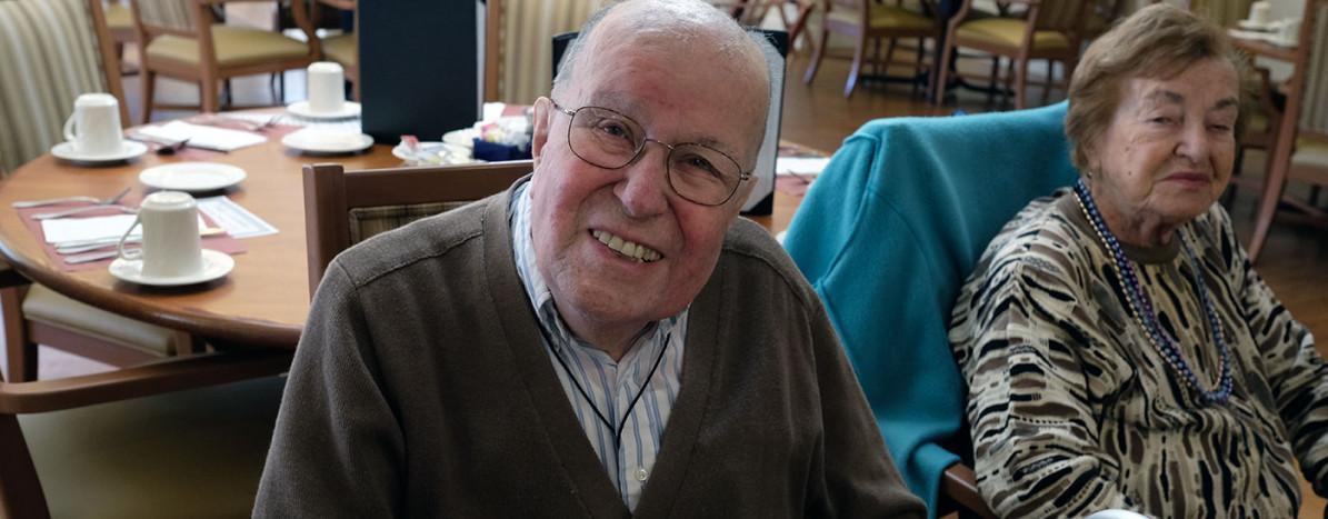 Herb Smiling