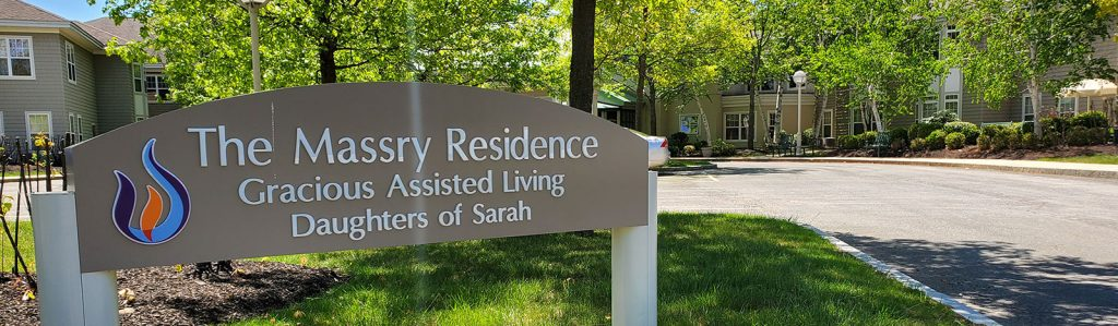 Massry Residence sign