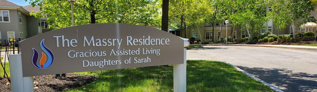 Massry Residence sign