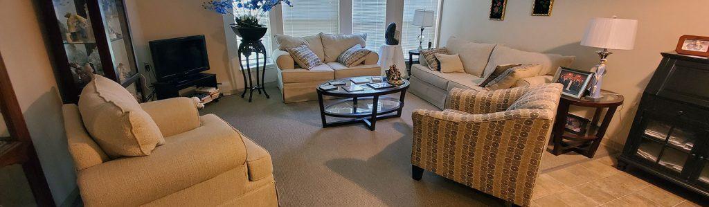 Massry Residence apartment living room