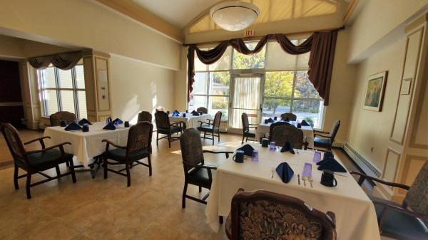 Memory Enhancement Dining Room